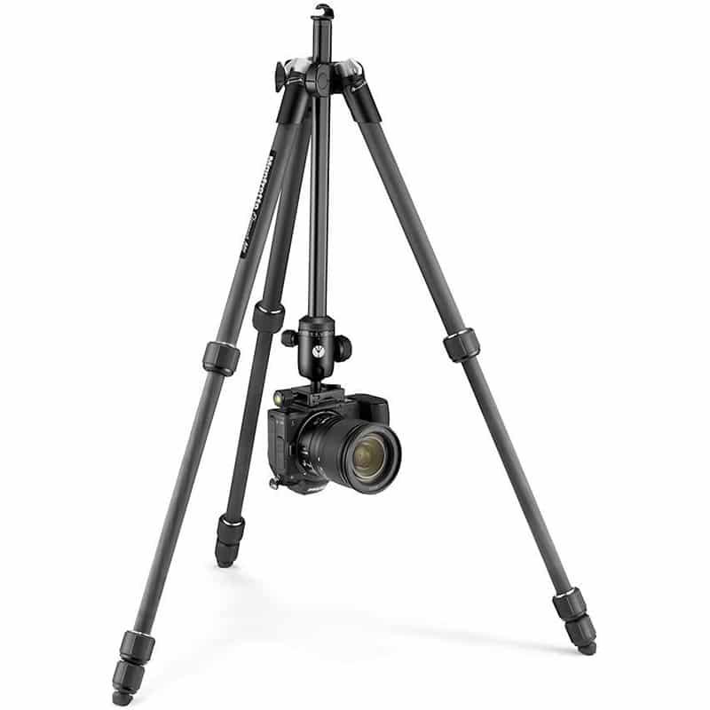photo-tripod-manfrotto-element-mii-carbon-fiber-mkelmii4cfm-bh-hero-with-camera-upsidedown
